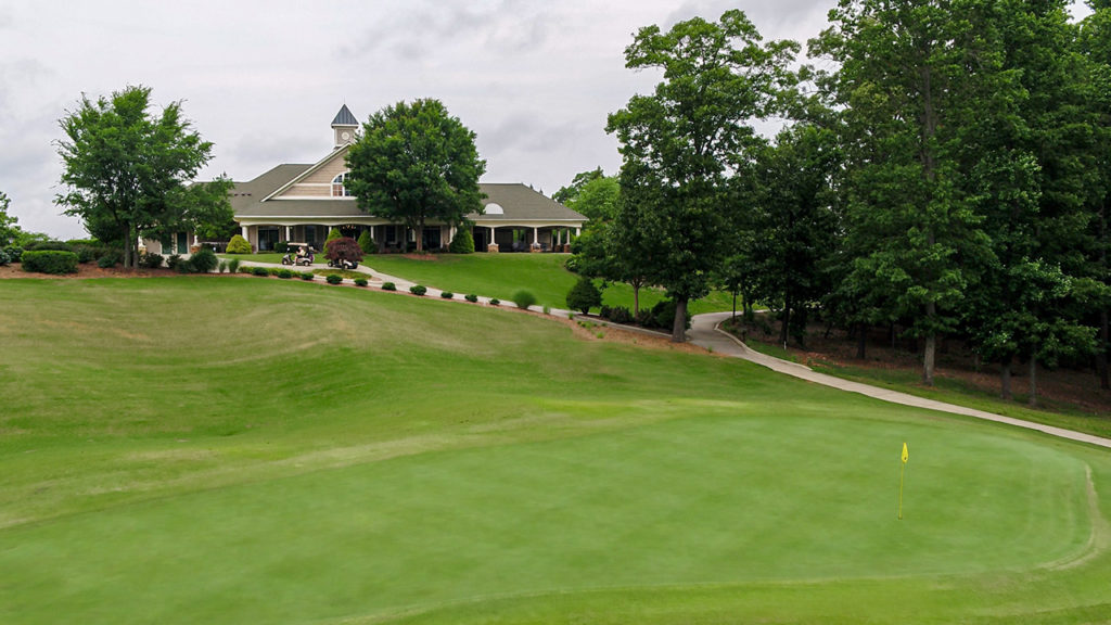 Skybrook Golf Club Hole 9 Green