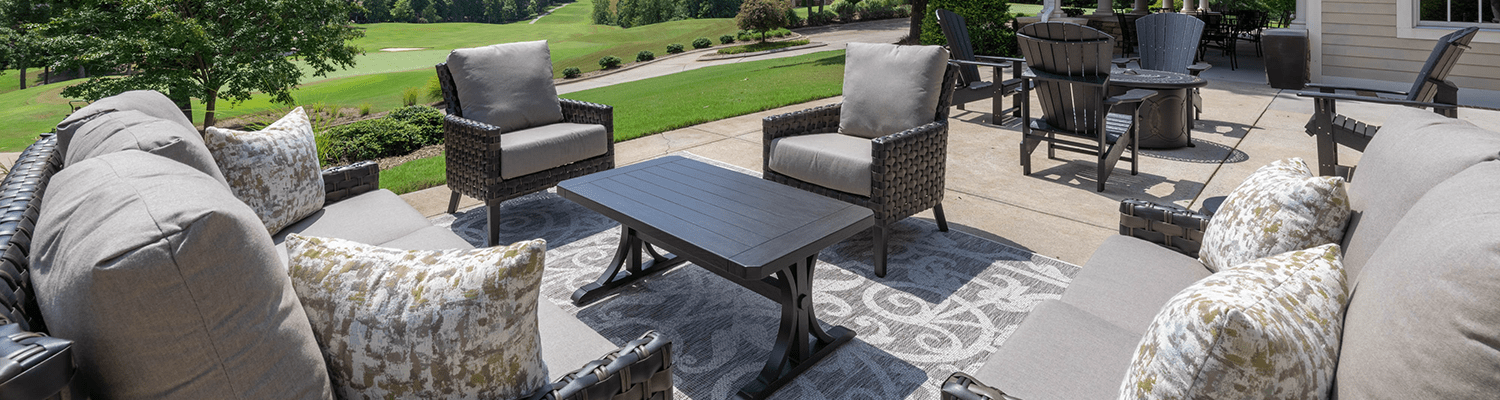 Skybrook Golf Club Patio Seating